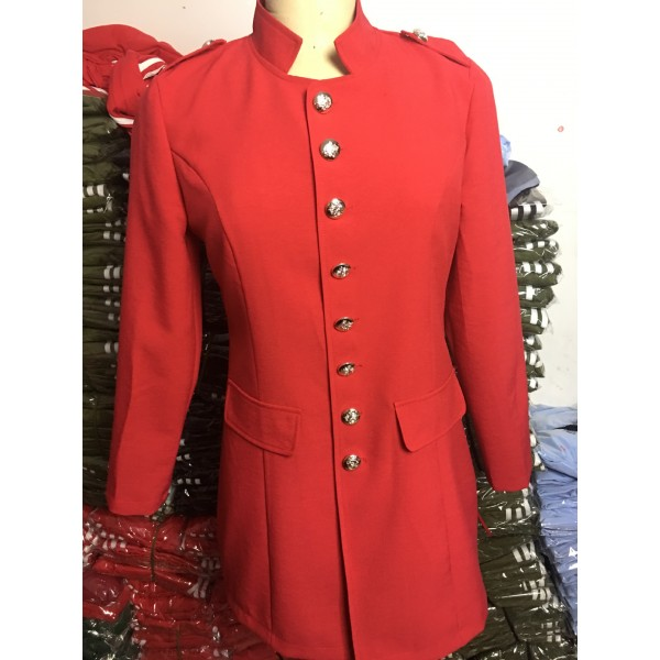 Amazon's new 2019 women's long sleeve windbreaker black coat slim fitting women's top with 8 buttons