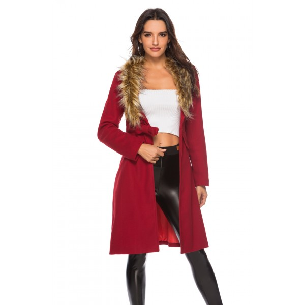 Real shot Amazon Europe and America deep V wool co...