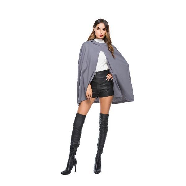 Women's Woolen cloak 8050