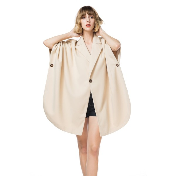 Amazon fat mm suit collar one button cape coat woolen coat 8607 spot price