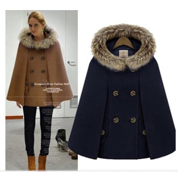 Autumn and winter New Retro British style women's ...