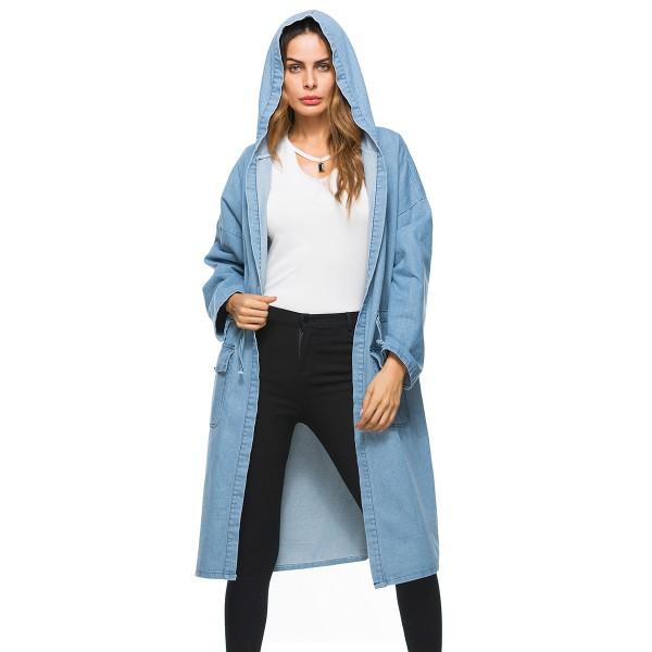 Large women's coat Amazon foreign trade autumn pop...
