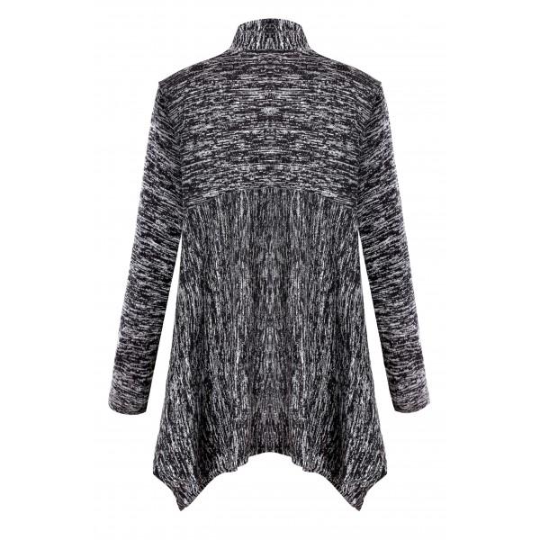 Amazon hot selling long sleeve cardigan leisure ir...
