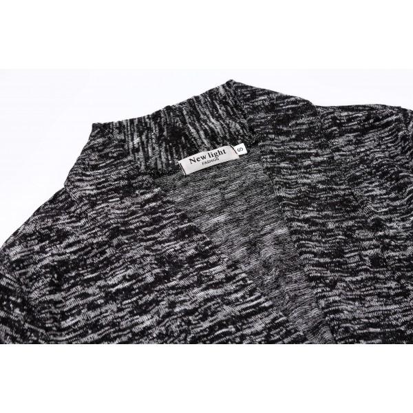 Amazon hot selling long sleeve cardigan leisure irregular handkerchief side windbreaker wish women's wear